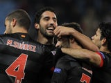 Atletico Madrid's Raul Garcia on November 22, 2012