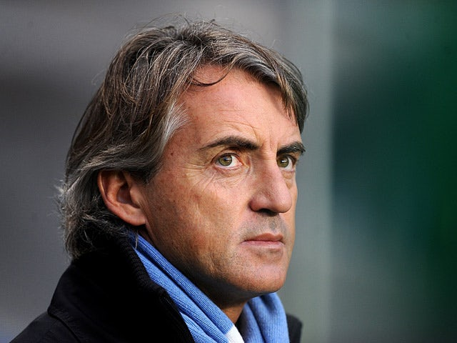 Mancini: 'City still behind top clubs'