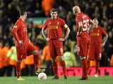 Steven Gerrard on November 22 2012