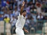 India's Umesh Yadav on September 2, 2012