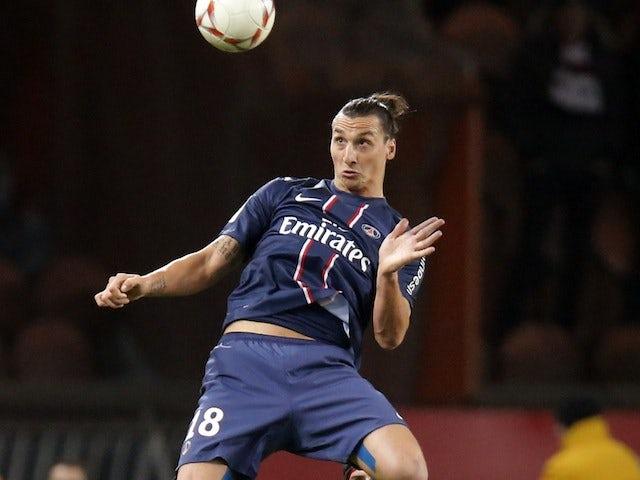Team News: Ibrahimovic starts for PSG