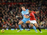 Andy Carroll and Oliveira Anderson on November 28, 2012