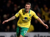 Anthony Pilkington celebrates scoring his team's second goal against Sunderland on December 2, 2012