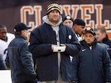 Pittsburgh Steelers' Ben Roethlisberger on the sidelines on November 25, 2012
