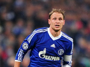 Schalke's Benedikt Howedes on November 6, 2012
