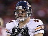Chicago Bears' Brian Urlacher on November 19, 2012