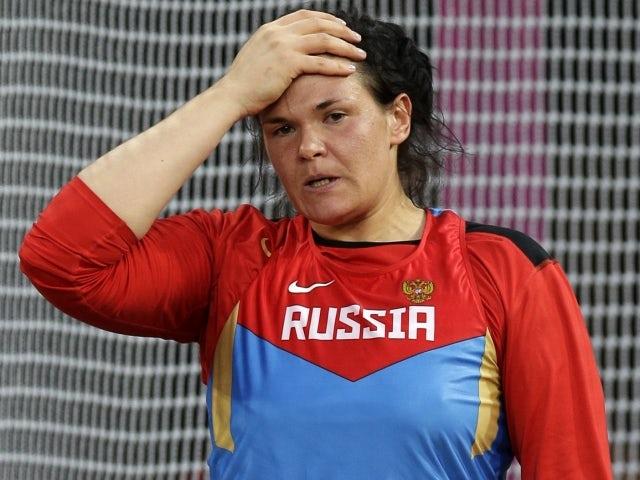 Discus medallist fails drug test