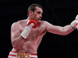 Price wants to avenge Thompson loss
