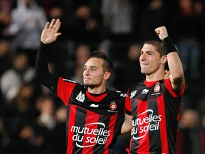 Result: Nice held by Lorient