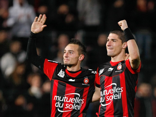 Result: Nice ease to Brest win