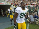Green Bay Packers wide receiver Greg Jennings on August 3, 2012