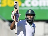 South Africa's Hashim Amla against Australia on December 1, 2012