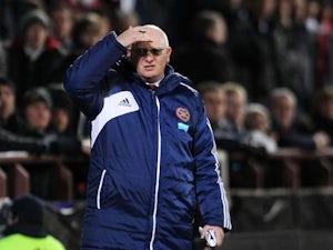Hearts sack John McGlynn