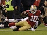 San Francisco 49ers' Kyle Williams on November 18, 2012