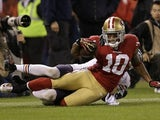 San Francisco 49ers' Kyle Williams on November 18, 2012