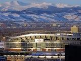 The Mile High Stadium in Denver