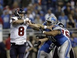 Ndamukong Suh and Matt Schaub clash on November 22, 2012