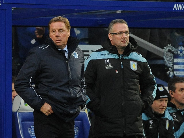 Result: QPR held to draw by Villa