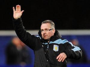 Lambert 'will keep Villa job'