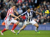 Robert Huth closes down Shane Long on December 1, 2012