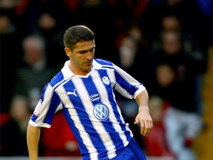 Sheffield Wednesday's Ryan Lowe on December 26, 2011