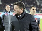 Napoli boss Walter Mazzarri during the game with Cagliari on November 26, 2012