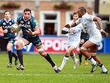 Cardiff Blues' Andries Pretorius breaks away on December 9, 2012