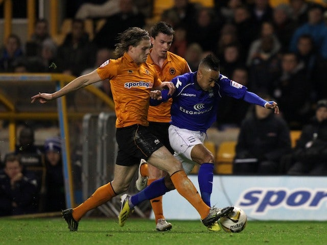 Bjorn Sigurdarson tackles Nathan Redmond on December 8, 2012