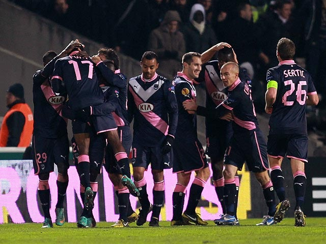 Result: Bordeaux too strong for Valenciennes