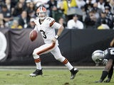 Brandon Weeden of the Cleveland Browns on December 2, 2012