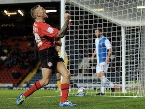 Craig Bellamy celebrates his goal against Blackburn on December 7, 2012