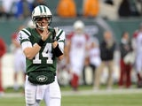 Greg McElroy of the New York Jets on December 2, 2012