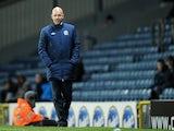 Blackburn manager Henning Berg on the touchline on December 7, 2012