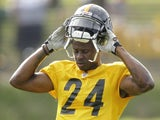 Pittsburgh Steelers cornerback Ike Taylor on August 4, 2011