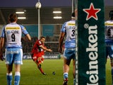 Johnny Wilkinson scores for his team against Sale on December 8, 2012
