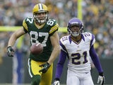 Green Bay Packers wide receiver Jordy Nelson on December 2, 2012