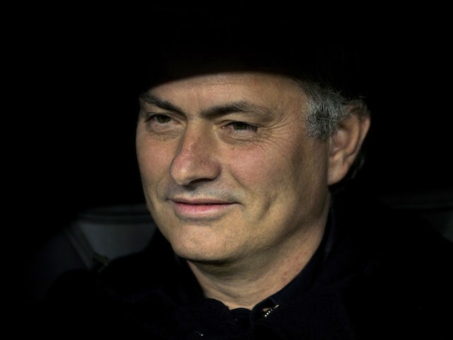Real Madrid boss Jose Mourinho on December 4, 2012