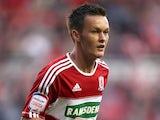 Middlesbrough's on-loan midfielder Josh McEachran on August 21, 2012