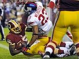 Washington Redskins' Josh Morgan on December 3, 2012