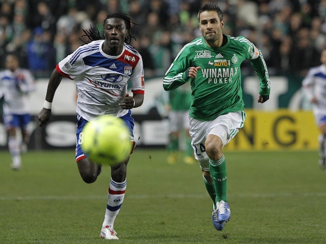 Result: St Etienne keep CL hopes alive with Marseille win