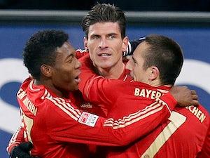 Bayern arrive in London