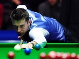 Mark Selby at the table on December 8, 2012