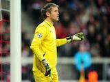 Lille's Mickael Landreau on November 7, 2012