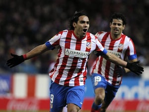 Falcao rubbishes Real Madrid link