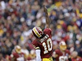 RG3 celebrates another touchdown pass against the Ravens on December 9, 2012