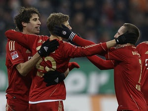 Result: Bayern register comfortable win