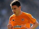 Wolverhampton Wanderers' Adam Hammill on October 16, 2011