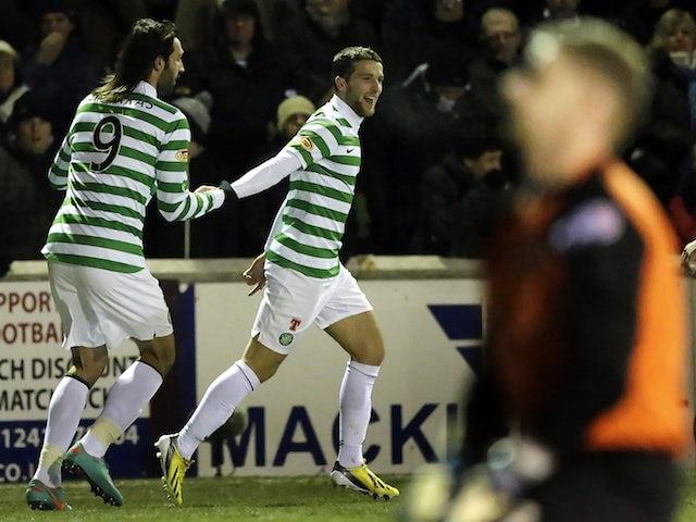 Result: Celtic edge past Arbroath