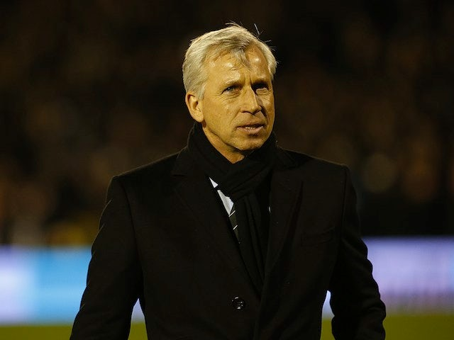 Pardew: 'We want to beat Arsenal for fans'