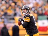 Ben Roethlisberger in action for the Pittsburgh Steelers on December 9, 2012